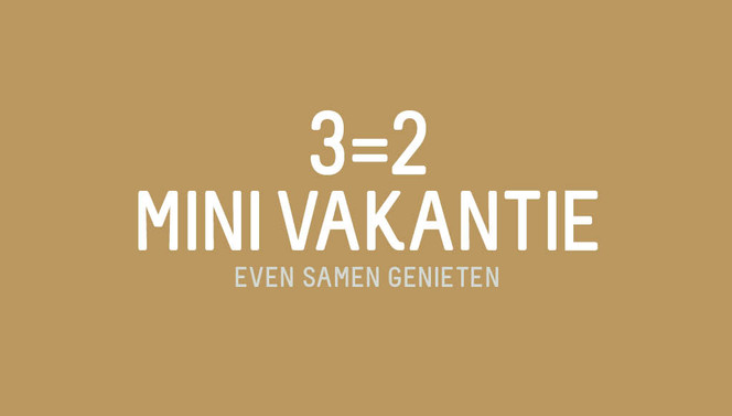3=2 mini vacation de bilt van der valk